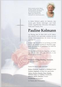 Pauline Kolmann