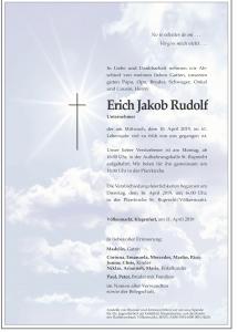 Rudolf Erich