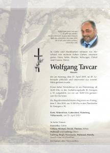 Tavcar Wolfgang