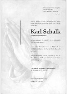 Schalk Karl