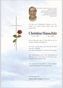 Hanschitz Christine