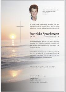 Sprachmann Franziska