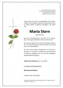 Microsoft Word - Partendruck Stern Maria Inge - Kopie.doc