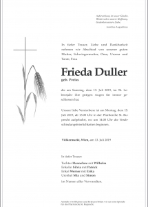 Duller Frieda