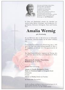 Wernig Amalia