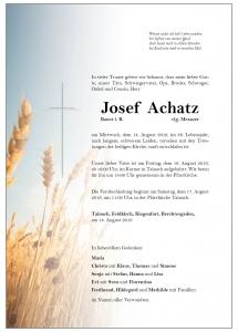 Achatz Josef