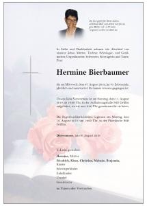 Bierbaumer Hermine
