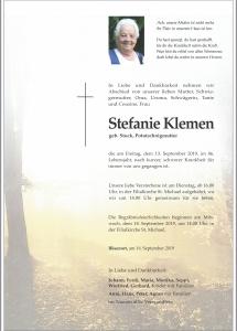 Klemen Stefanie