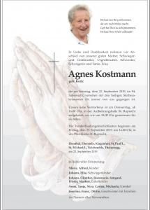 Kostmann Agnes