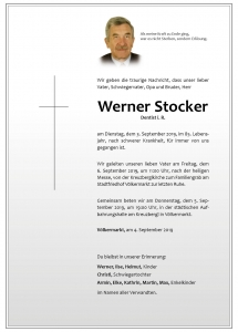 Stocker Werner