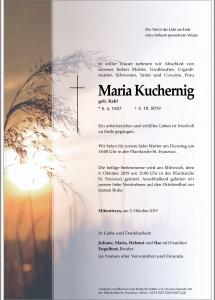 Kuchernig Maria
