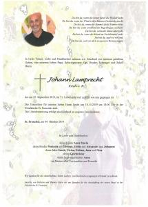 Lamprecht Johann