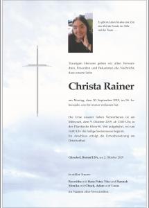 Rainer Christa