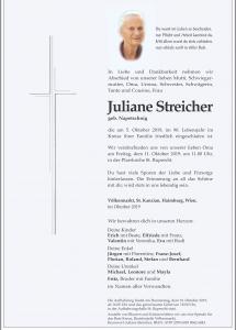 Streicher Juliane