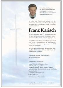 Karisch Franz