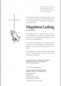 Ladinig Magdalena