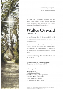 Oswald Walter