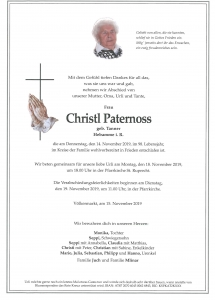 Paternoss Christl