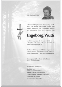 Wutti Ingeborg