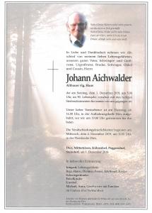 Aichwalder Johann