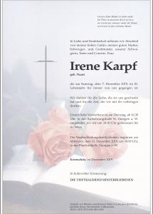 Karpf Irene