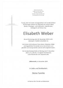 Weber Elisabeth
