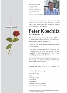 Koschitz Peter