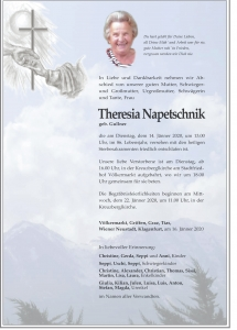 Napetschnik Theresia