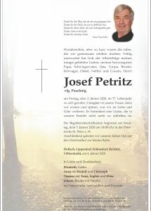 Petritz Josef