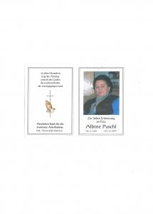 Puschl Albine