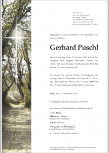 Puschl Gerhard