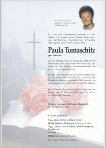Tomaschitz Paula