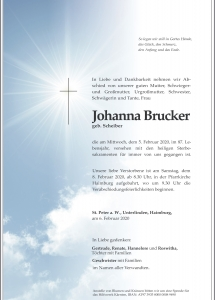 Brucker Johanna