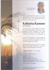 Kummer Katharina