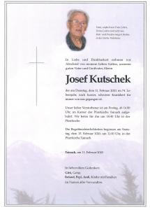 Kutschek Josef