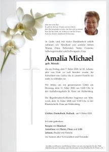 michael amalia