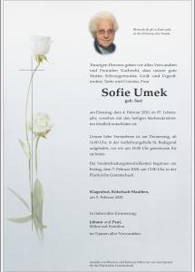 Umek Sofie