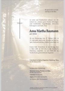 Baumann Anna