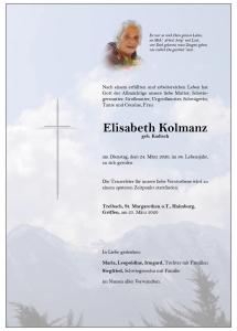 Kolmanz Elisabeth