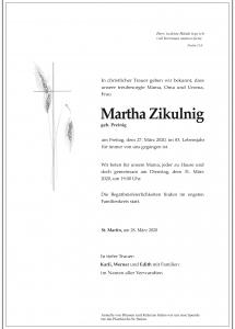 zikulnig Martha