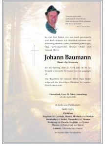 Baumann Johann