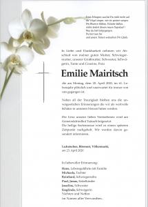 Mairitsch Emilie