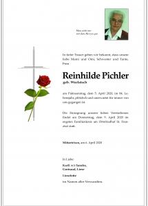 Pichler Reinhild