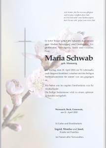 Schwab Maria
