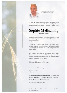 Melischnig Sophie