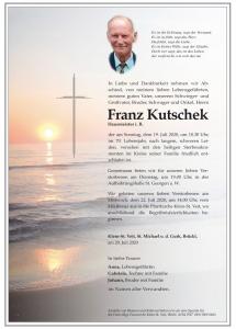 Kutschek Franz
