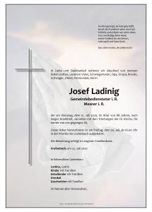 Ladinig Josef