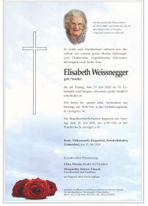 Weissnegger Elisabeth