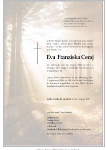 Ceraj Eva Franziska