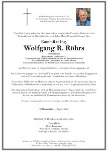 Röhrs Wolfgang